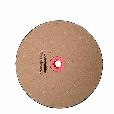 "Paper Sharpening Wheels - 6"" Gritted Replacement Wheel for 5"" Grinder - 120 Grit"