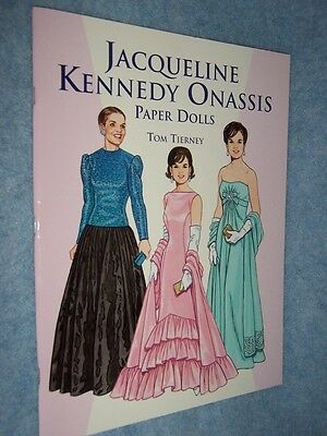 1999 Jacqueline Kennedy Onassis Paper Dolls by Tom Tierney