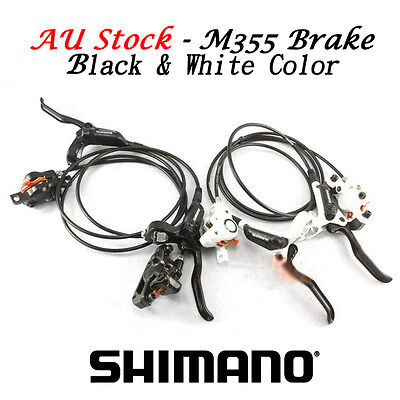SHIMANO BR-BL-M355 Hydraulic Disc Brake Set Front and Rear - AU Stock