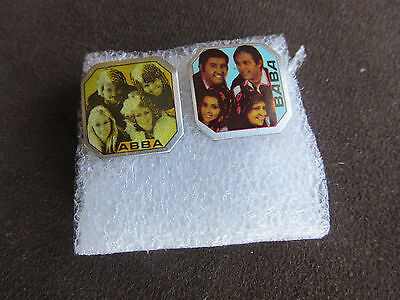 Abba And Baba Vintage 2 Pins