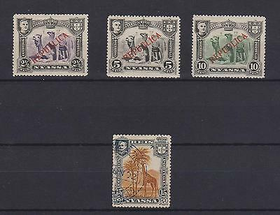 Nyassa, Republica Lot Of 4 Stamps