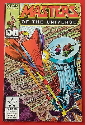 Masters of the Universe #6 Star Comics FN