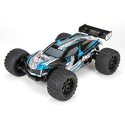Losi RC TEN-MT RTR, AVC: 1/10 4WD BLACK/BLUE (LOS03006T1)