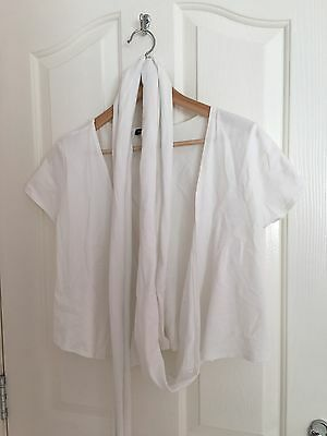 Isabella Oliver Wrap Top size 4
