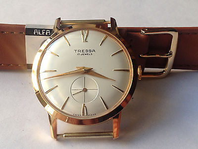 """Watch Vintage  Tressa Anni 60 Carica Manuale Swiss Made """"new Old Stock"""""""