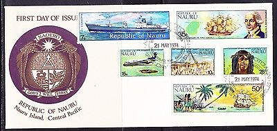 Nauru 1974 First Contact First Day Cover.- Unaddressed
