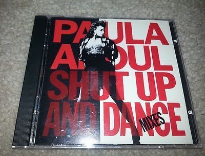 Paula Abdul Shut Up and Dance CD Compact DIsc