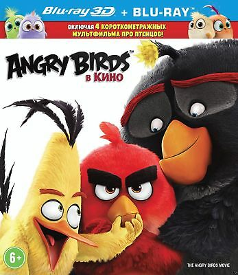 The Angry Birds Movie (Blu-ray 3D/2D)Eng,Russian,Danish,Estonian,Latvian,Finnish