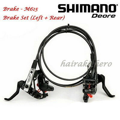 AU Stock - Shimano Deore BR-M615 M610 Hydraulic Disc Brake Set 160mm HS1 Rotor