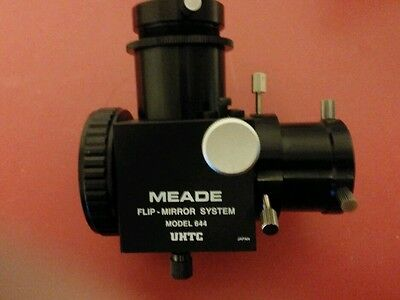 Meade flip mirror with UHTC coatings