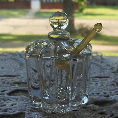 Imperial Glass 'Penny Mustard'  1940's-1950's