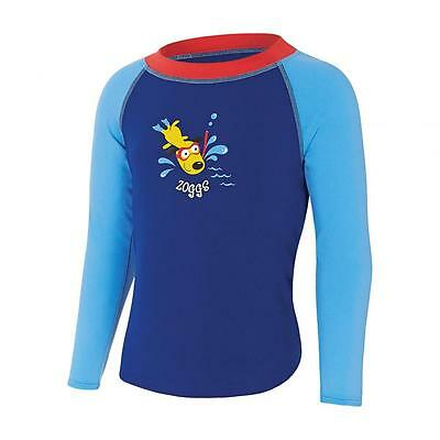 Boys Diving Dog Swim Top Swimming Shirt From Zoggs Swimsuit