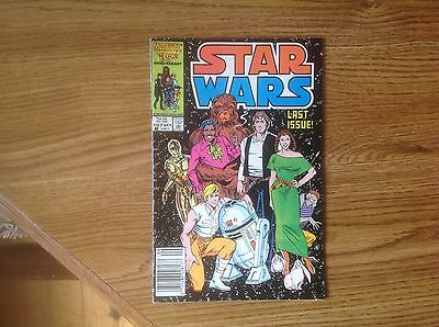 Star Wars #107 Low Distribution HTF FN++ KEY Copper Age Last issue!!