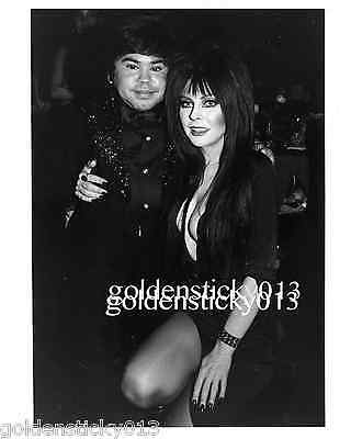 1980's Elvira Herve Villechaize (Fantasy Island Tattoo) Original 8 x 10 Photo