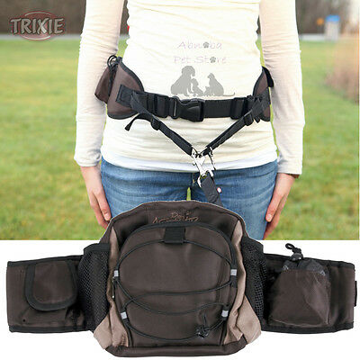 Multi Belt Hip Bag ideal for jogging, Dog walking & trekking reflective Poo Bags