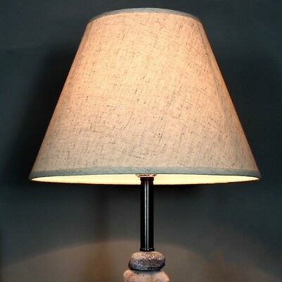 Cotton Textured Fabric Drum Shade Bedroom Ceiling Lampshade Lighting Cover New