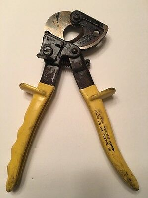 klein ratcheting cable cutter