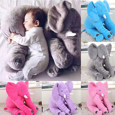 Long Nose Elephant Doll Soft Pillow Plush Stuff Cushion Pillow For Baby Kid Toy