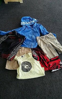 Boys surf clothes mixed - size 10 & 12
