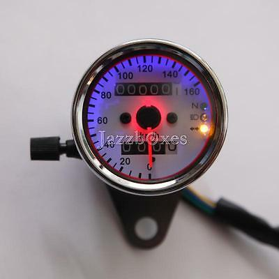 Motorcycle Backlit Dual Speedometer For Harley Softail Heritage Classic Springer