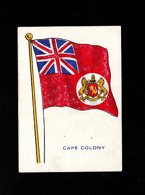 """Bargain Day ~~ Home & Colonial 1916 ( Flag ) Card """" Cape Colony -- Flag Pictures"""