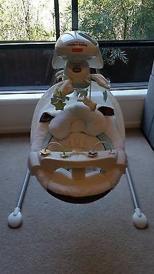 Fisher Price  Little Lamb Cradle Swing