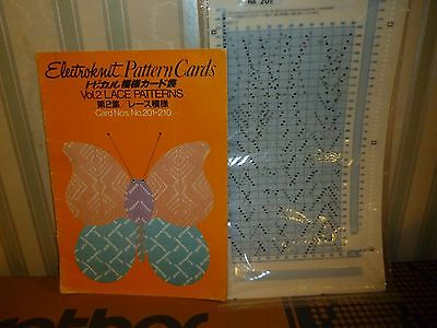 BROTHER ORIGINAL MYLAR SHEETS (LACE PATTERNS) and PATTERN BOOK