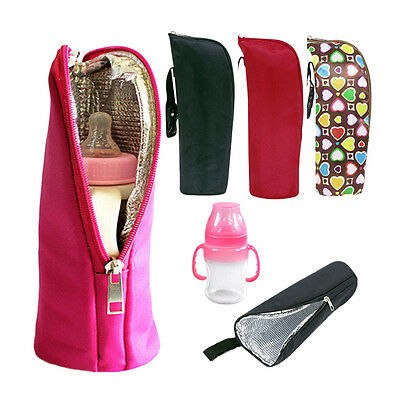 New Travel Milk Bottle Hanging Feeding Bag Baby Holder Insulate Thermal Bags