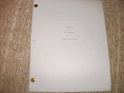This Is Us Pilot Script - Justin Hartley Mandy Moore Sterling Brown Chrissy Metz