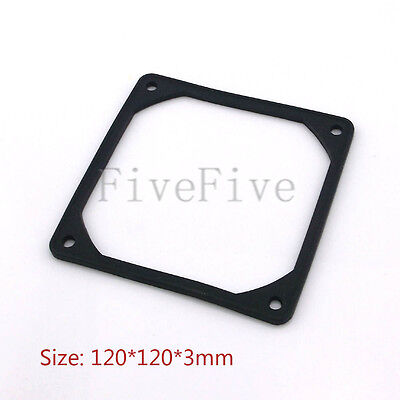 10 x 120mm PC Case Fan Anti Vibration Gasket Silicone Shock Proof Absorption Pad