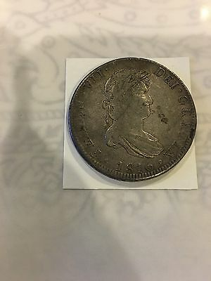 1816 Mexico 8 Reales Coin - Km #115.8