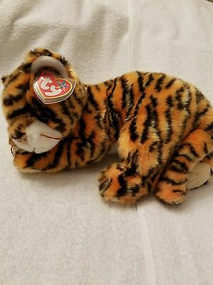 Ty Beanie Buddy India The Tiger  MWMT  Retired