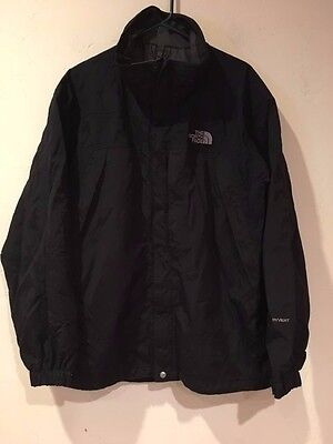 The North Face Men's Hyvent Outer Shell Winter Black Water Proof Jacket Size XL