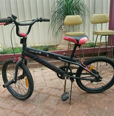 Boys BMX Bike, Huffy RED AND BLACK Children's Bicycle