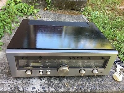 VGC Luxman R-1040 Vintage 1978 Receiver with light Up Peak Power Indicators