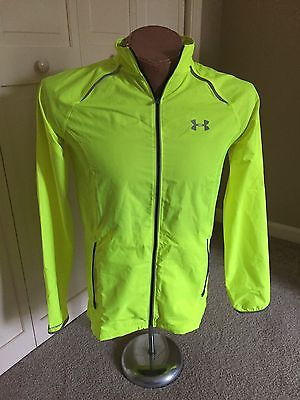 Under Armour Run Full Zippered Long Sleeve Top Style #1253577 Men's Size Small