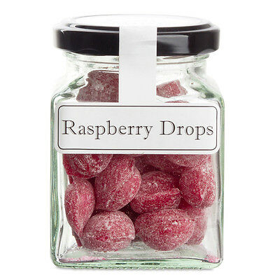 NEW The Lolly Shop Raspberry Drops 100g