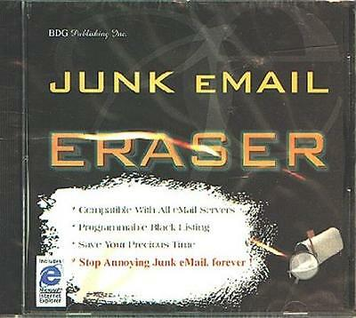 Junk Email Eraser CD-ROM for Windows 95/NT - NEW CD in SLEEVE