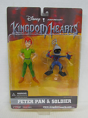 Disney Kingdom Hearts PETER PAN & SOLDIER Figures SquareSoft 2002