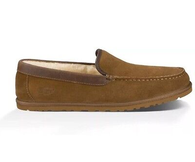 63c87c965fc UGG MEN MCCAULEN Casual Suede Leather Loafers Moccasins Shoes Size 11  Chesnut