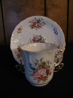 Hammersley Fine Bone China Demitasse Cup And Saucer - Made In England