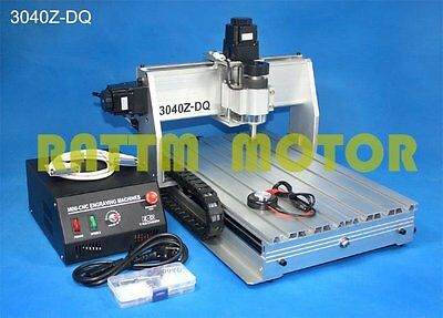3 Axis 3040Z 300W Spindle CNC Router Engraver Engraving Cutting Milling Machine