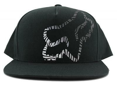 FOX Complex Snapback Mens Flat Bill Hat In 2 Colours From FOX Motocross
