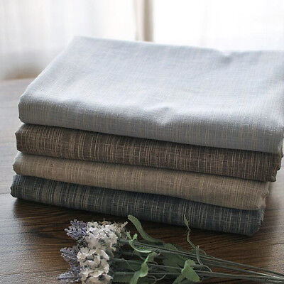 High Quality Japanese Style Plain Stripes Table Cloth Linens Cotton Table Covers