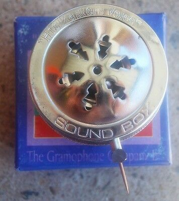 Collectable  Voice Box For Gramophone + 10 Needles   ...