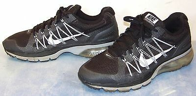 NIKE black silver AIR MAX EXCELLERATE 3 running SHOES 703072-001 size 9.5