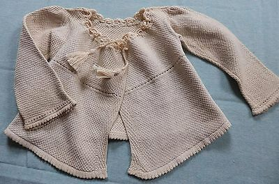 Antique Hand Made Baby or Doll Jacket Adorable Small Size