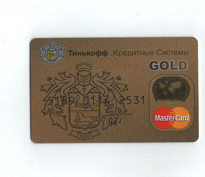 Russia MasterCard bank Tinkoff
