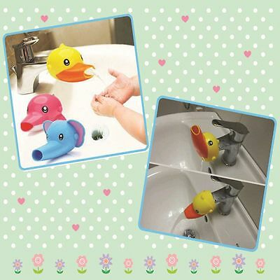 Kids Toddler Design Guide Cute Hand Hands Extender Water Washing Faucet
