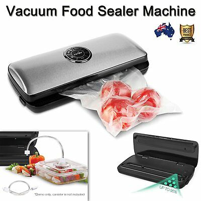 Portable 30CM Stainless Steel Vacuum Food Sealer Machine with Free bags and roll